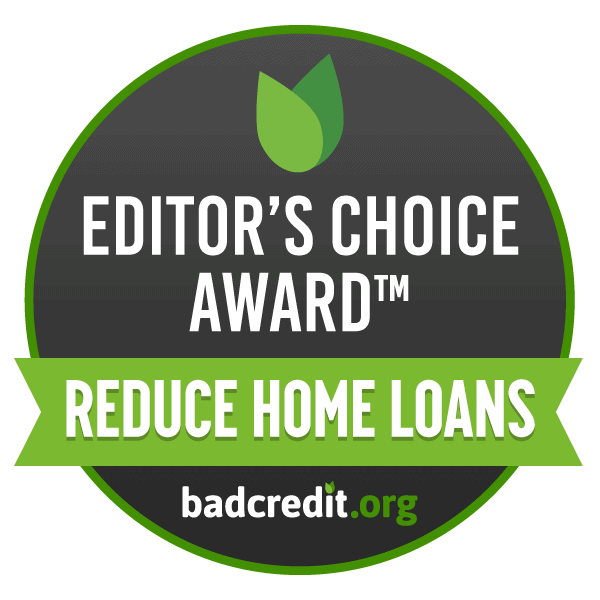 Badcredit,org Editor's Choice - our awards